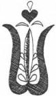 fafaragás - tulipán motívum